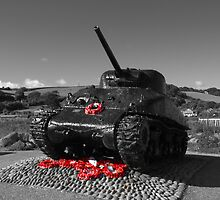 Tank Memorial by Chris Day