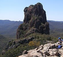 The Top of 'The High Tops' Warrumbungle Nat. Park, N.S.W. by Rita Blom