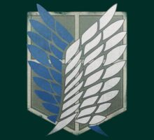 Scouting Legion Crest (Battle Worn) Realistic. by Studio Ronin