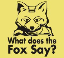 What does star fox say? by Brantoe