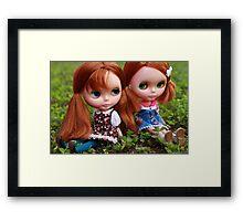 Wynnie & Viv Framed Print