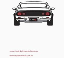 C110 Skyline Back version by Adrian De