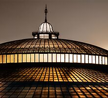Sunrise-Light at Glasgow's Botanical garden by maxblack
