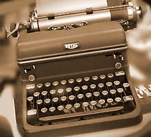 Royal Typewriter by Mike  McGlothlen