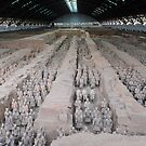 Terracotta Warriors, Xi'an, China. by Ralph de Zilva
