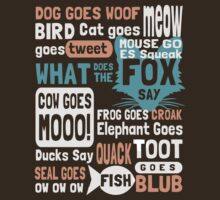 What Does The Fox Say by protos