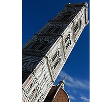 Giotto's Fantastic Campanile, Florence Cathedral, Piazza del Duomo, Florence, Italy Photographic Print