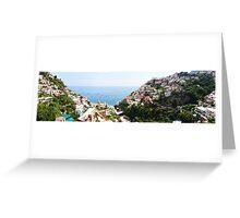 Positano Panorama Greeting Card