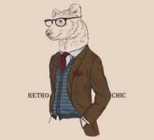 Fashion Animals - Father Bearry | artwork by Olga Angelloz by ccorkin