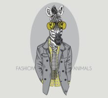 Fashion Animals - Zeb-la-rainton | artwork by Olga Angelloz by ccorkin