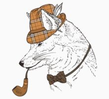 Fashion Animals - Manor Fox the 2nd | artwork by Olga Angelloz by ccorkin