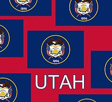 Smartphone Case - State Flag of Utah VIII by Mark Podger