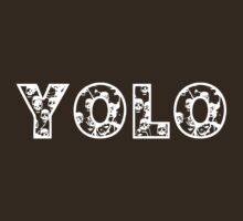 YOLO (white text) by Jess Meacham