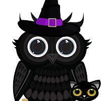 Black Owl Witch by Adamzworld