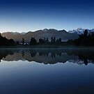 Lake Matheson, New Zealand by Miguel De Freitas