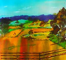Woodend Lancefield Road Rochford VIC Australia by Margaret Morgan (Watkins)