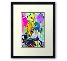 WHAT TIME IS IT??? Framed Print