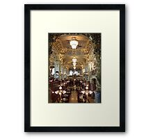 Meet Me for Coffee ~ New York Café ~ Budapest Framed Print