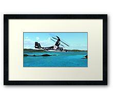 U.S. Air force V-22 Osprey Framed Print
