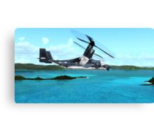 U.S. Air force V-22 Osprey Canvas Print