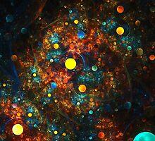 """Celestial Gumballs"" (square) by Zero Dean"