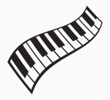 Piano Keys Pattern by Style-O-Mat