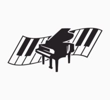 Piano Keys Music Design by Style-O-Mat