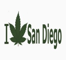0017 I Love San Diego   by Ganjastan