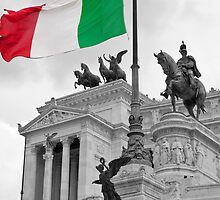 Flag Of Italia by Adrian Alford Photography