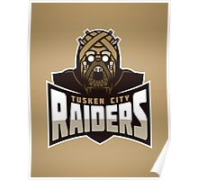 Tusken City Raiders Poster