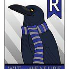 Ravenclaw Raven (film version) by makoshark