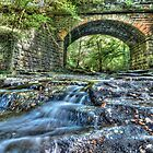 Bridge over May Beck by © Steve H Clark