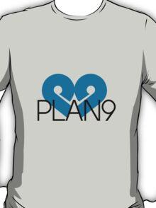 PLAN9 Blue T-Shirt