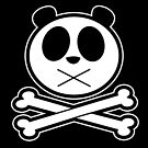 Panda Cross Bone 2 by Adamzworld