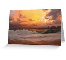 Tropical storm 2 Greeting Card