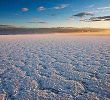 sunrise on Salar de Uyuni by travel4pictures