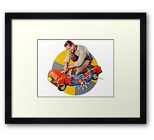 mr-fixit Framed Print