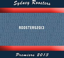 Sydney Roosters 2013 Premiers iPhone Cover by nweekly