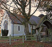 Country church at Bramdean by Judi Lion
