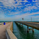 Overseas Highway Florida Keys by Chris Thaxter