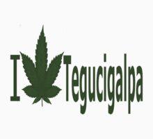 0023 I Love Tegucigalpa  by Ganjastan