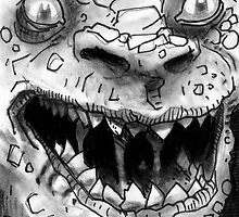 Rogues Gallery - Killer Croc by Andy Hunt