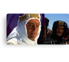 "Peter O'Toole & Omar Sharif @ ""Lawrence of Arabia"" Canvas Print"
