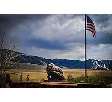 American Bear Photographic Print