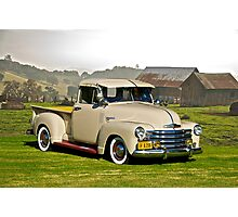 1949 Chevrolet Pick-Up Truck Photographic Print