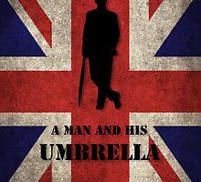 Mycroft - A man and his umbrella  by Varvox