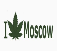 0032 I Love Moscow by Ganjastan