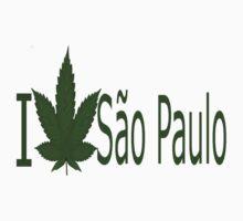 0033 I Love Sao Paulo by Ganjastan
