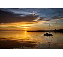 Port Angeles Sunrise Photographic Print
