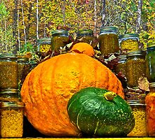 Autumn Treasures by Carolyn Clark